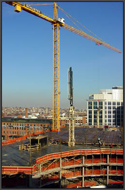 Tower Crane at Inner Harbor Parcel B
