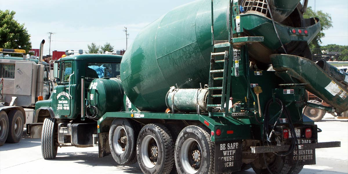Order Concrete – Schuster Concrete Construction