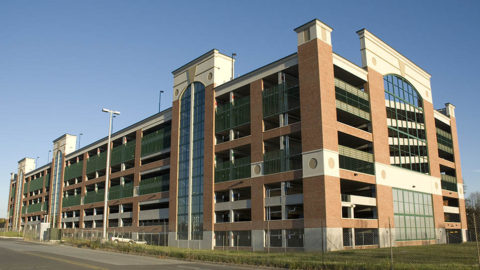 Redbrook Parking Garages and Office Buildings